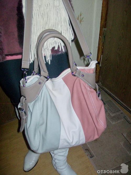 Отзыв: Женские сумки Helen Loi - Яркие эмоции в подарок от коллег.