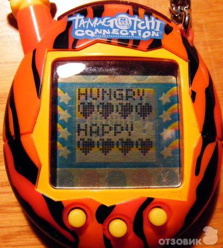 Отзыв: Электронная игрушка-брелок Тамагочи - Позаботьтесь о Мамэтчи!
