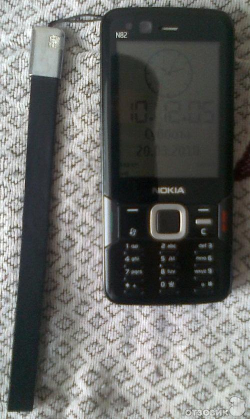 Nokia N82 (black) замена камерофону Nokia N73. Купил данный смартфон
