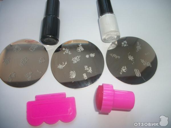 Как делать маникюр штампом гель лак