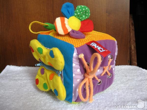 Развивающие игрушки для малыша своими руками
